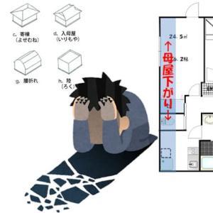 斜線制限と屋根形状