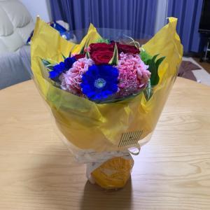 卒業祝いの花束