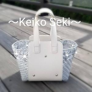 ハートモチーフのトートバッグ