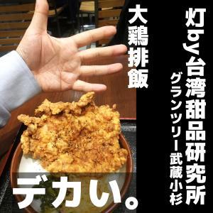 グランツリー武蔵小杉4/22開店の「灯」の大鶏排飯と麺線が旨すぎて。