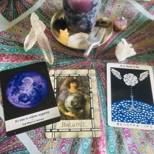 満月◯天秤座【カードからのメッセージ】