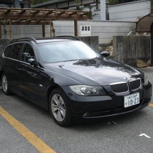 BMW 代車の E91が、31万キロ走破!!って凄い!