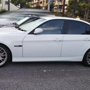 BMW 夏のメンテとドレスアップ?