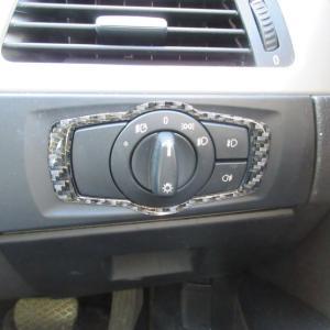 BMW カーボン インテリアパネル 付けてみました!