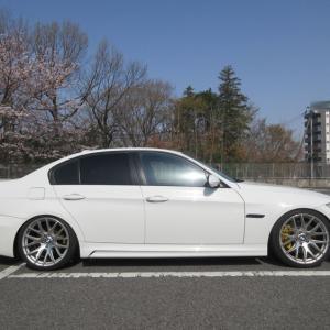 BMW 335i用ブレーキ移植完了!