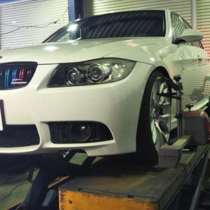 BMW メンテ祭りw アライメント+オイル交換