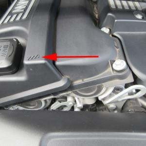 BMW カーボンシート テストピース