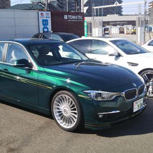 BMW シフトノブ交換完了w
