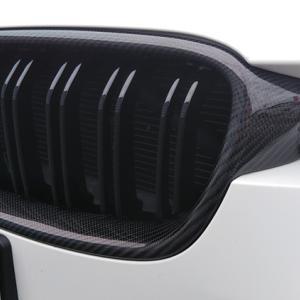 BMW カーボングリル取り付け完了w