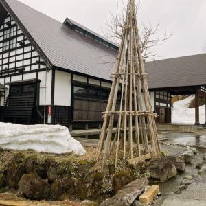雪解けシーズンの里山十帖宿泊記(1)