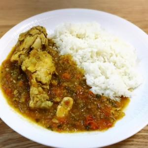 【時短&作りおき】8分でできる鶏手羽と野菜のカレー