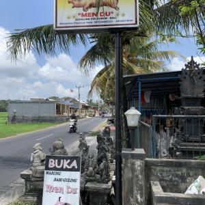 癖になるこの味!Masakan Bali&エメラルドバリ島SV925リングが綺麗です