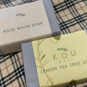 バリ島!KOUさんのLEMON TEA TREE SOAPが最高!&ハートのラリマーが可愛い