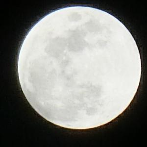 バリ島から見たストロベリームーン(満月)が綺麗だった&可愛いマンゴスチンペンダントトップ