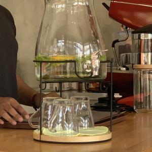 もうすぐオープン「EJJI COFFEE CONER」デトックスウォーターがグラティス!素敵!