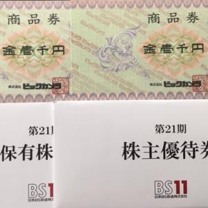 【長期認定!】日本BS放送(9414)株主優待到着〜2019年8月優待内容紹介