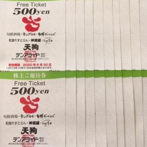 【人気優待】テンアライド(8207)株主優待到着〜2019年9月優待内容紹介
