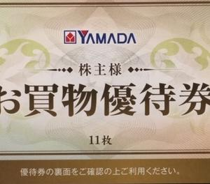 【長期認定】ヤマダ電機(9831)株主優待到着〜2019年9月優待内容紹介