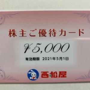 【自社券】西松屋チェーン(7545)株主優待到着〜2020年8月優待内容紹介
