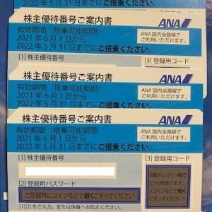 【価値減?】ANAホールディングス(9202)株主優待到着〜2021年3月優待内容紹介