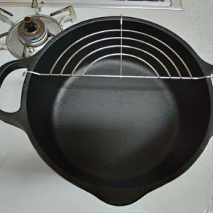 南部鉄の天ぷら鍋