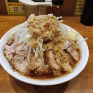 ほぼ週刊豚道場!まさかの大盛り豚入りに?!新トッピングも始まってるってばよ! 富山市 麺屋豚道場