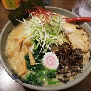 白米と食いたくなるこってりニンニク味噌ラーメン! 富山市 麺家竜馬