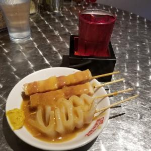 幸せになる呪文『シナチクメンに串2本赤割り』 富山市 まるたかや駅前店