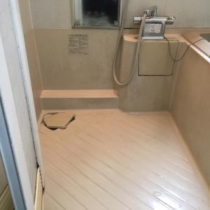 浴室内の水アカ取り(鹿児島市)