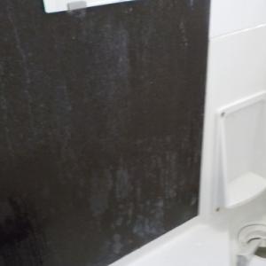浴室の石けんカス除去他(鹿児島市の空室クリーニング)