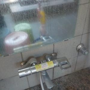 浴室鏡のウロコ取り・排水溝の汚れ取り