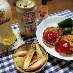 6/24(水)豆腐ハンバーグ  6/25(木)ニラ玉