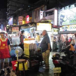 台北 旅日記 1・・出発前の腹ごしらえと、台北の夜