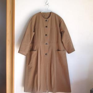 この秋冬に たっぷり着たい、ブラウンのコート