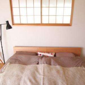 念願の 新しいベッドと、新しい朝