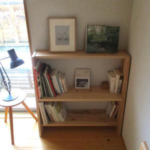 本棚の空間に、ワクワクする