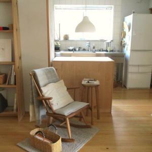 模様替えの たのしみ・・キッチン横の くつろぎスペース