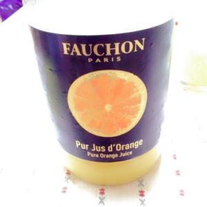 驚き価格のジュース!フォション オレンジジュース!