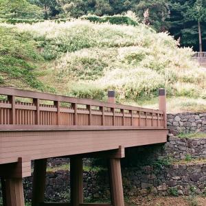 NIKON F2で歩く真夏の八王子城跡