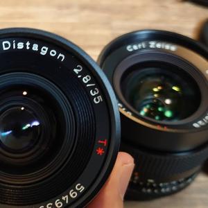 【オールドレンズ】Distagon T* 35mm F2.8 も買っちまったのです!
