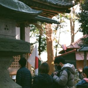 【いまさら謹賀新年】Planar T* 50mm F1.4で行く赤城神社の初詣