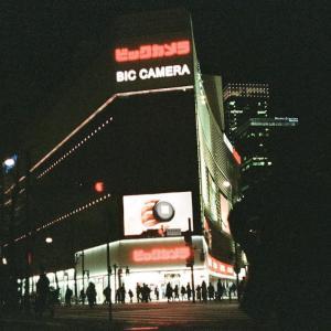 【フィルムカメラ】YASHICA ELECTRO35 CCNで有楽町の夜
