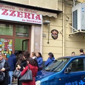 本場のNapoli pizzaの味や如何に