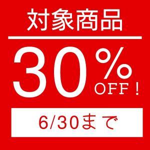 【6月末まで!30%OFF!キャンペーン開催中!】