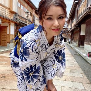 『金沢』浴衣を着て金沢旅