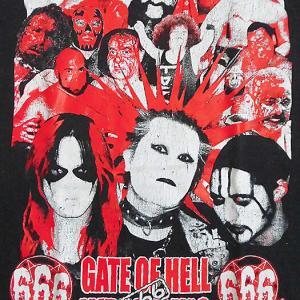 暗黒プロレス組織・666(トリプルシックス)Tシャツ