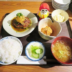 函館市本町 繁華街の一等地にある「佳さく」で一汁三菜ランチ