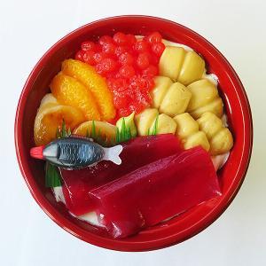 函館 まるで海鮮丼なビジュアルのスイーツ!「プティメルヴィーユ」