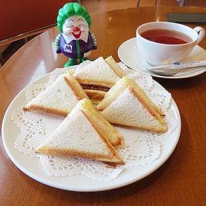 「CAFE 美鈴 函館空港店」のホットサンドがワヤに美味い