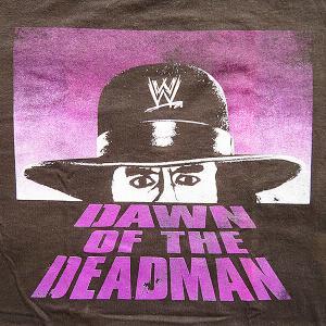 WWE ジ・アンダーテイカー DAWN OF THE DEADMAN Tシャツ